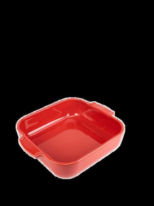 Peugeot - Appolia Red 3 QT Square Ceramic Baker - 60176