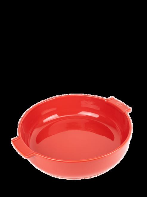"Peugeot - Appolia Red 13.4"" Round Ceramic Baker - 60251"