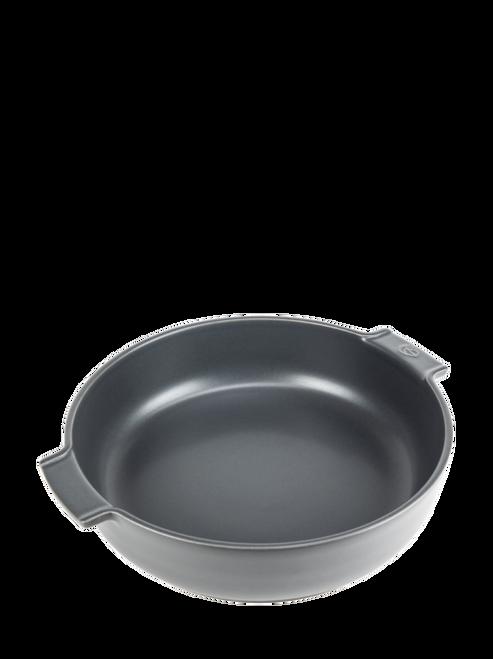 """Peugeot - Appolia Slate 13.4"""" Round Ceramic Baker - 60268"""