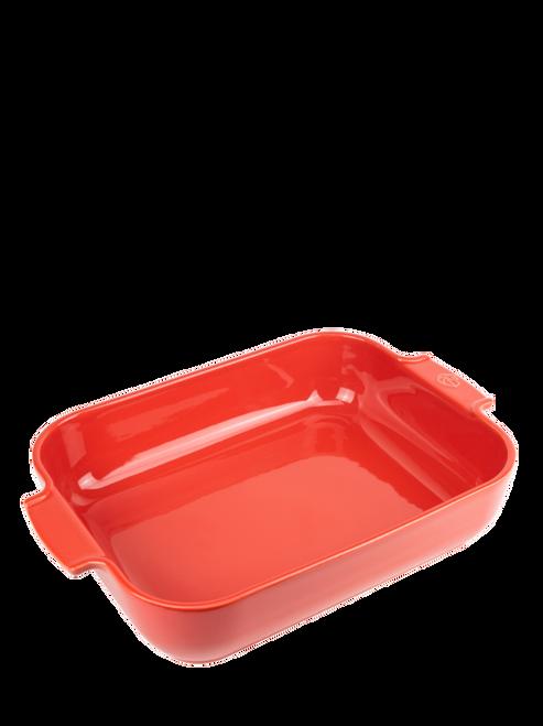 Peugeot - Appolia Red 5.5 QT Rectangular Ceramic Baker - 60015