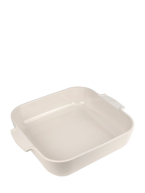 Peugeot - Appolia Ecru 5.7 QT Square Ceramic Baker - 60121