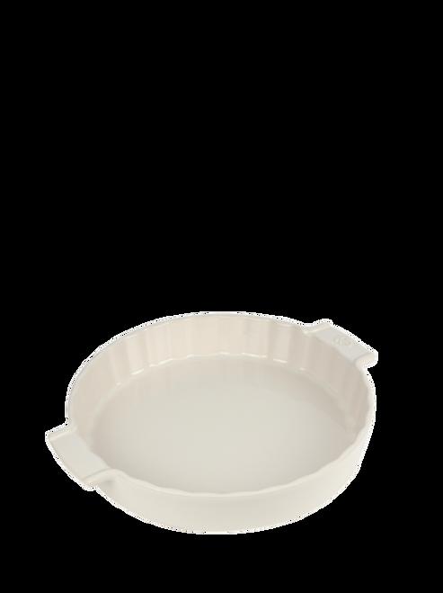 """Peugeot - Appolia Ecru 11"""" Ceramic Pie Dish - 60381"""