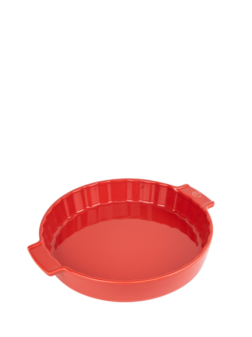"Peugeot - Appolia Red 11"" Ceramic Pie Dish - 60398"