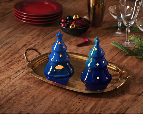 Le Creuset - Blueberry Candle Light Christmas Tree - PG2018CT92