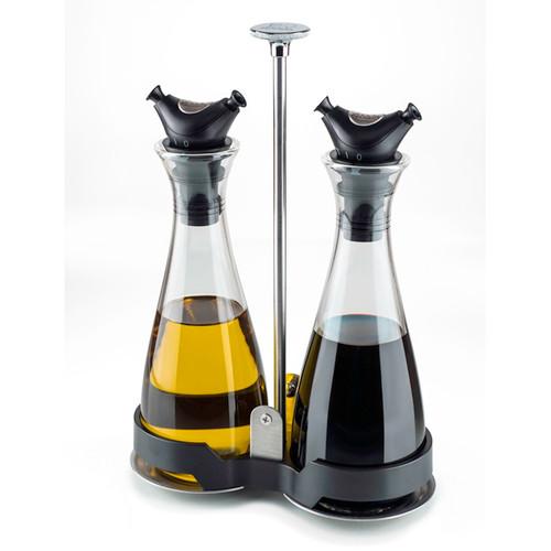 Peugeot - Balsam 6.75 oz Oil & Vinegar Cruet Set - 37031