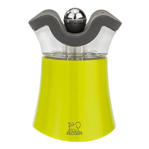 """Peugeot - Pep's Green 3"""" (8 cm) 2-in-1 Salt Shaker & Pepper Mill Combi - 30889"""