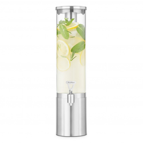 Final Touch - 2.5 L Stainless Steel & Glass Beverage Dispenser - BD510