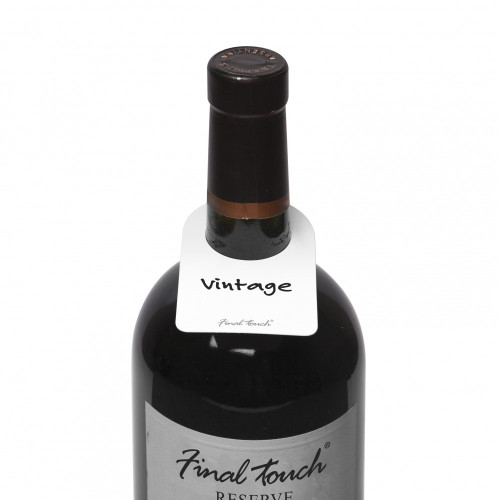 Final Touch - 48 Wine Bottle Tags - FTA7001