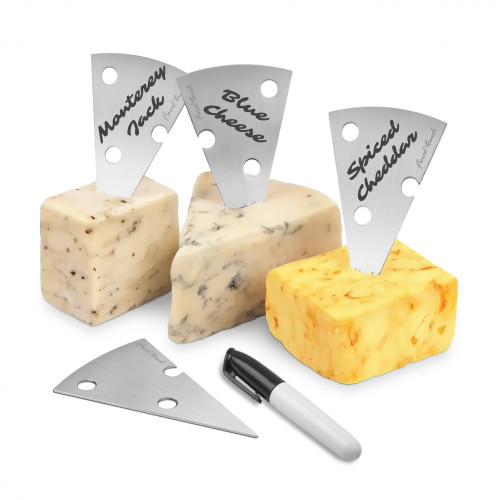 Final Touch - Stainless Steel Cheese Marker Set - FTA7080