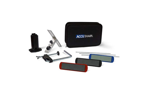 AccuSharp - 3-Stone Precision Knife Sharpening Kit - 060C