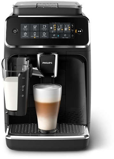 Philips - 3200 Fully Automatic Espresso Machine With LatteGo -  EP324154
