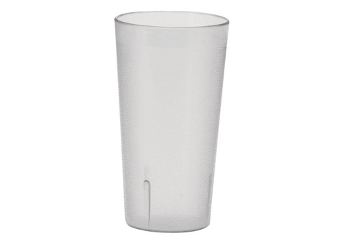 Winco - 16 Oz Clear Pebbled Tumbler - PTP16C