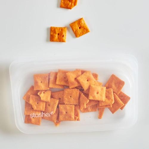 Stasher - Reusable Silicone Snack Bag - SB01279CL