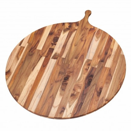 "Pro Teak - 22"" Round Medium Atlas Cutting Board - TH903"
