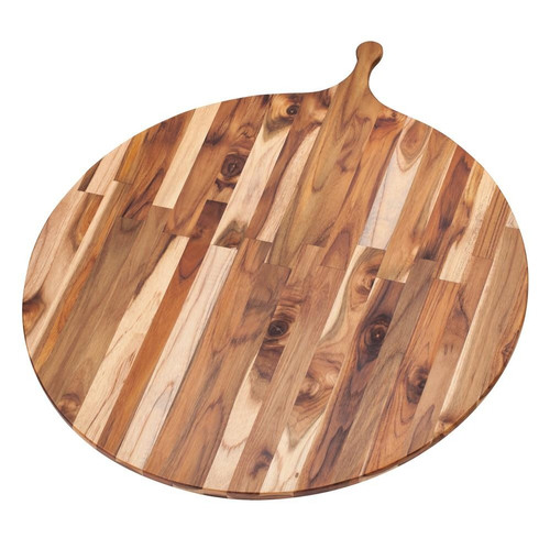 "Pro Teak - 32.5"" Round Large Atlas Cutting Board - TH901"
