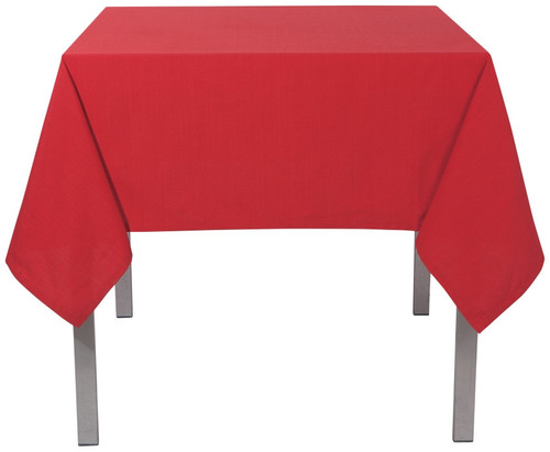 "Now Designs - Renew Chili 55"" x 55"" Wrinkle Resistant Tablecloth - 1901495"