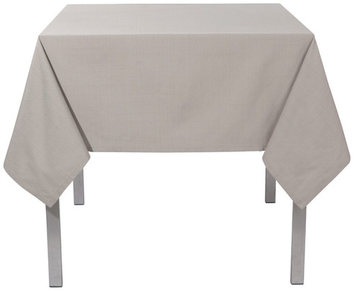 "Now Designs - Renew Cobblestone 60"" x 120"" Wrinkle Resistant Tablecloth - 1904416"