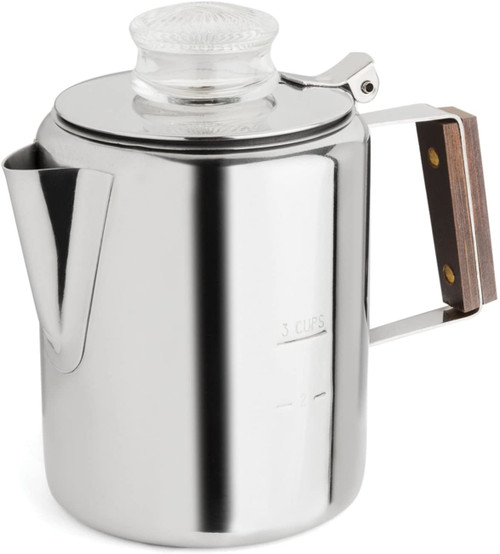 Rapid Brew - 2 - 6 Cup Stainless Steel Percolator