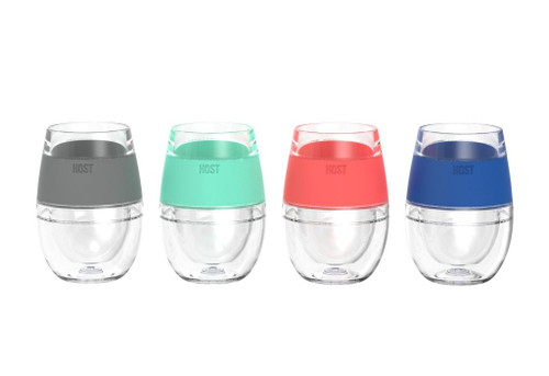 True Brands - Wine Freeze Cooling Cups (Set of 4) - 5168