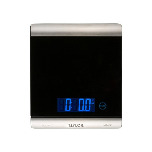 Taylor - Ultra High Capacity 33 Lb Digital Kitchen Scale - 3851