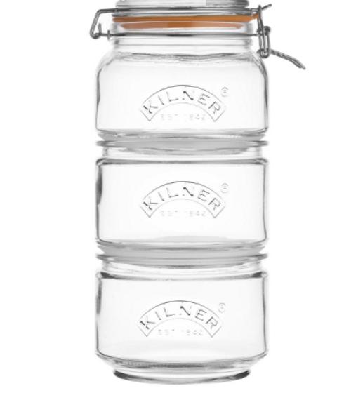 Kilner - Stackable Storage Jar Set - 25271