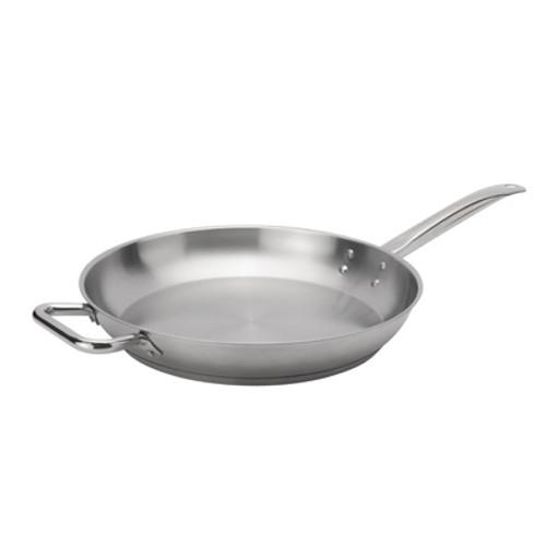 """Browne - Elements 12"""" Stainless Steel Fry Pan  - 5734052"""