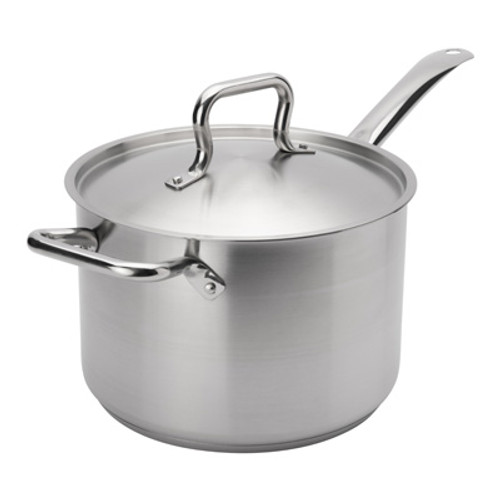 """Browne - Elements 10 Qt (11"""") Stainless Steel Sauce Pan  - 5734040"""
