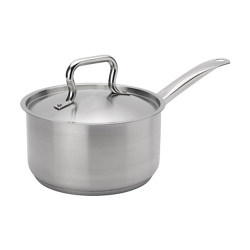 """Browne - Elements 3.5 Qt (8"""") Stainless Steel Sauce Pan  - 5734033"""