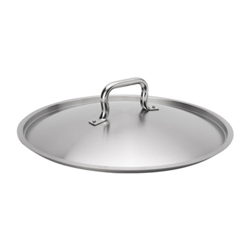 "Browne - Elements 15-7/10"" Stainless Steel Stock Pot Cover - 5734140"