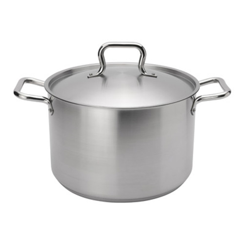 "Browne - Elements 12 Qt (11"") Stainless Steel Stock Pot  - 5733912"