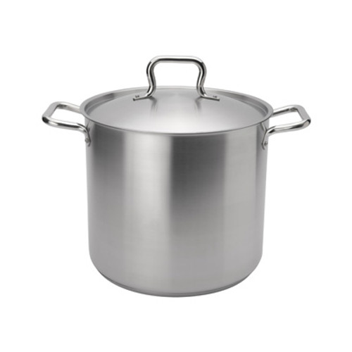 "Browne - Elements 16 Qt (11"") Stainless Steel Stock Pot  - 5733916"