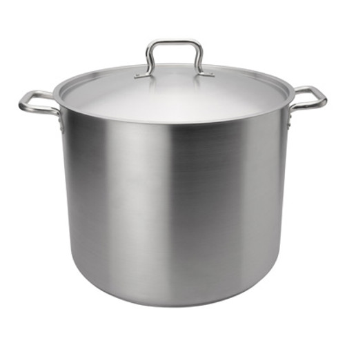 "Browne - Elements 60 Qt (17.7"") Stainless Steel Stock Pot  - 5733960"