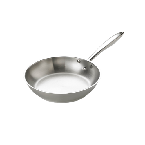 """Thermalloy - 9.5"""" Stainless Steel Deluxe Fry Pan - 5724050"""