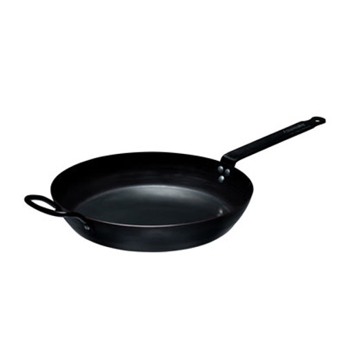 """Thermalloy -12"""" Non-Stick Carbon Steel Fry Pan - 573742"""