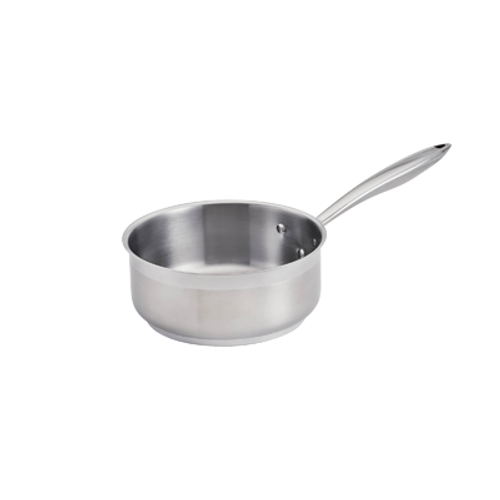 Thermalloy -1-1/2 Qt Stainless Steel Low Sauce Pan - 5724161
