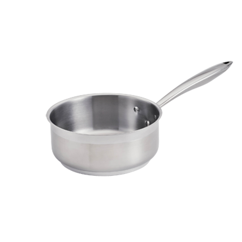 Thermalloy -2-1/2 Qt Stainless Steel Low Sauce Pan - 5724162