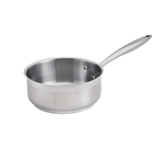 Thermalloy -5 Qt. Stainless Steel Low Sauce Pan - 5724164