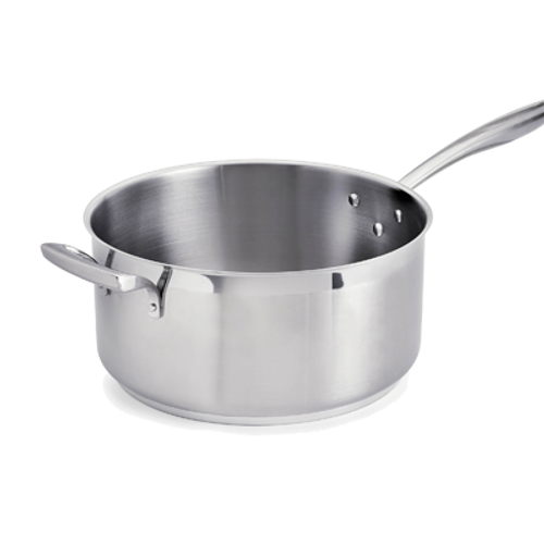 Thermalloy -8 Qt. Stainless Steel Low Sauce Pan - 5724166