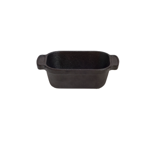 Thermalloy -10.5 oz Cast Iron Mini Traditional Rectangle  - 573758