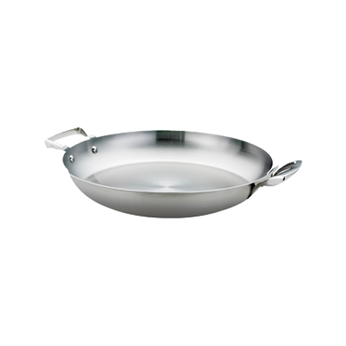 "Thermalloy -16"" Stainless Steel Paella Pan  - 5724174"