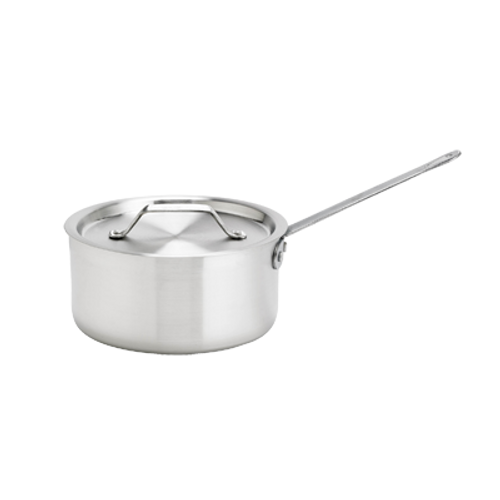 Thermalloy -3.75 Qt Heavy Weight Aluminum Sauce Pan  - 5814503