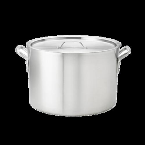 Thermalloy -26 qt Heavy Weight Aluminum Sauce Pot - 5814326
