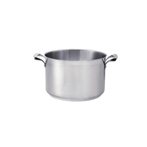 Thermalloy -7 Qt Stainless Steel Sauce Pot - 5724186