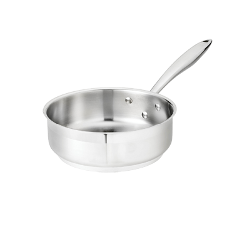Thermalloy -2 qt Stainless Steel Sauté Pan - 5724180