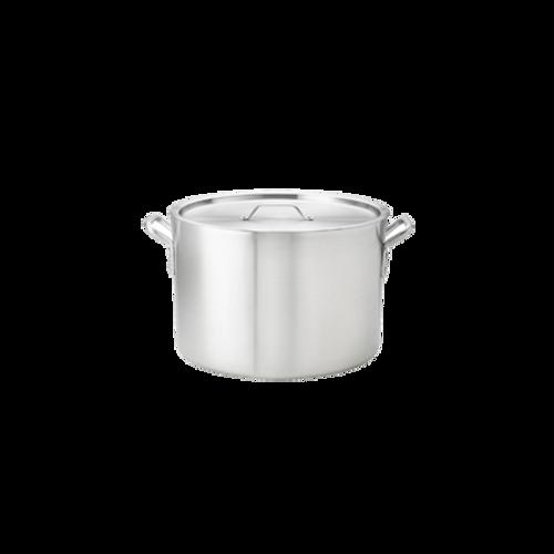 Thermalloy -20 qt Heavy Weight Aluminum Stock Pot - 5814120