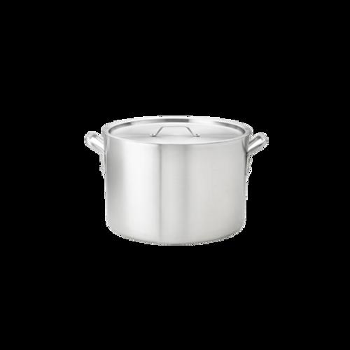 Thermalloy -24 qt Heavy Weight Aluminum Stock Pot - 5814124