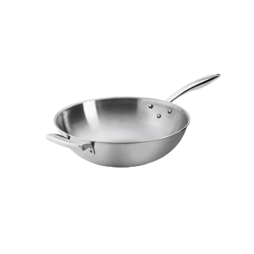 "Thermalloy -12"" Try-Ply Wok - 5724095"