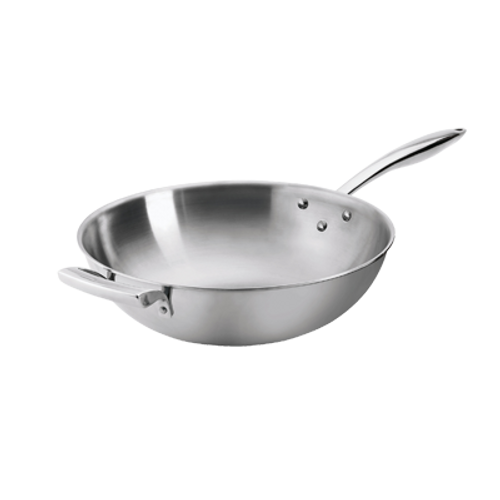 "Thermalloy -14"" Try-Ply Non-Stick Wok - 5724100"