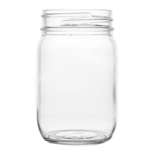 Hospitality Brands - 12 oz All PurposeDrinking Jar (12 Per Case) - HG1205
