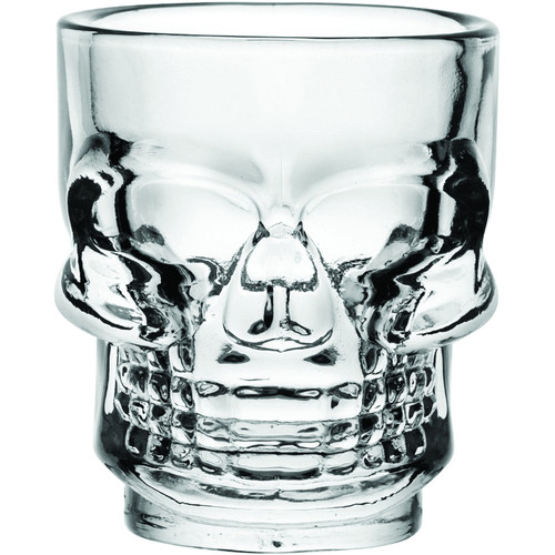 Hospitality Brands - 1.5 Oz Skull Shot Glass (24 Per Case) - HG90206